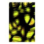 Yellow light Shower Curtain 48  x 72  (Small)  42.18 x64.8 Curtain