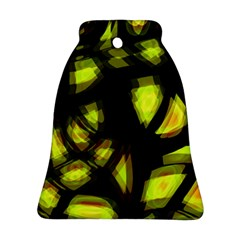 Yellow Light Bell Ornament (2 Sides)