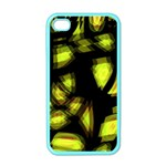 Yellow light Apple iPhone 4 Case (Color)