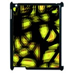 Yellow light Apple iPad 2 Case (Black)