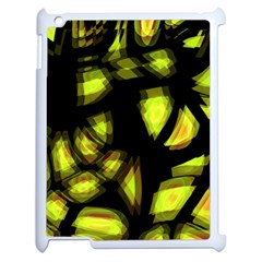 Yellow Light Apple Ipad 2 Case (white) by Valentinaart