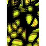 Yellow light Miss You 3D Greeting Card (7x5) Inside