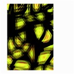 Yellow light Small Garden Flag (Two Sides)