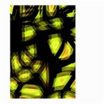 Yellow light Large Garden Flag (Two Sides) Back