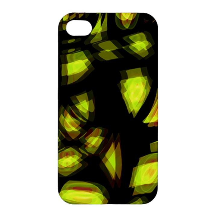 Yellow light Apple iPhone 4/4S Premium Hardshell Case