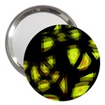 Yellow light 3  Handbag Mirrors