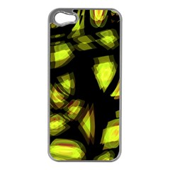 Yellow Light Apple Iphone 5 Case (silver)