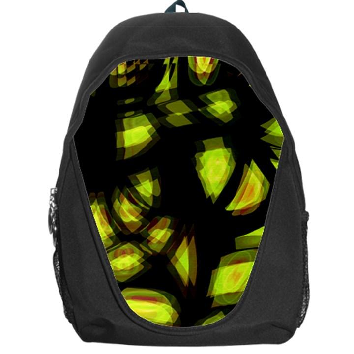 Yellow light Backpack Bag