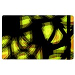Yellow light Apple iPad 2 Flip Case
