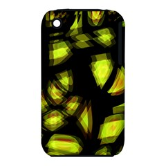 Yellow Light Apple Iphone 3g/3gs Hardshell Case (pc+silicone) by Valentinaart