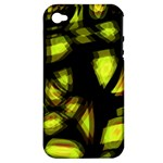 Yellow light Apple iPhone 4/4S Hardshell Case (PC+Silicone)