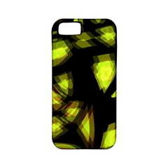 Yellow Light Apple Iphone 5 Classic Hardshell Case (pc+silicone)