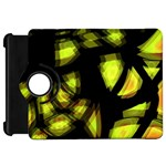 Yellow light Kindle Fire HD Flip 360 Case