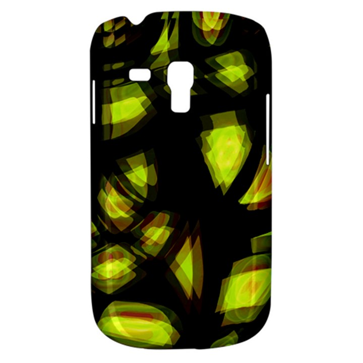 Yellow light Samsung Galaxy S3 MINI I8190 Hardshell Case