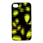 Yellow light Apple iPhone 4/4S Hardshell Case with Stand