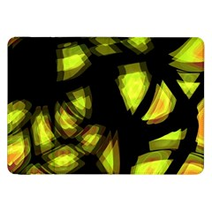 Yellow Light Samsung Galaxy Tab 8 9  P7300 Flip Case