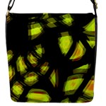 Yellow light Flap Messenger Bag (S)