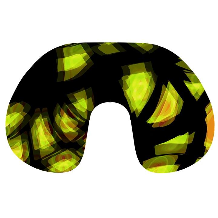 Yellow light Travel Neck Pillows