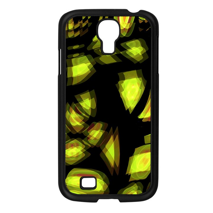 Yellow light Samsung Galaxy S4 I9500/ I9505 Case (Black)
