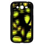 Yellow light Samsung Galaxy Grand DUOS I9082 Case (Black)