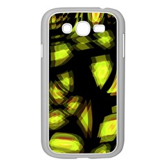 Yellow Light Samsung Galaxy Grand Duos I9082 Case (white) by Valentinaart