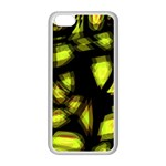 Yellow light Apple iPhone 5C Seamless Case (White)