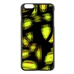 Yellow light Apple iPhone 6 Plus/6S Plus Black Enamel Case