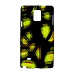 Yellow light Samsung Galaxy Note 4 Hardshell Case