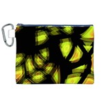 Yellow light Canvas Cosmetic Bag (XL)