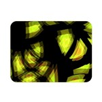 Yellow light Double Sided Flano Blanket (Mini)