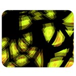 Yellow light Double Sided Flano Blanket (Medium)