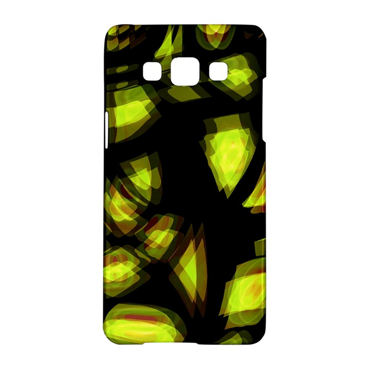 Yellow light Samsung Galaxy A5 Hardshell Case
