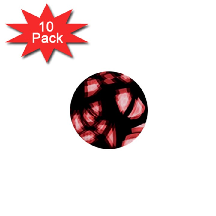 Red light 1  Mini Buttons (10 pack)