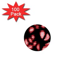 Red light 1  Mini Buttons (100 pack)