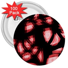 Red light 3  Buttons (100 pack)