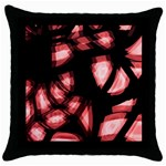 Red light Throw Pillow Case (Black) Front