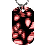 Red light Dog Tag (Two Sides) Back