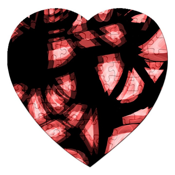 Red light Jigsaw Puzzle (Heart)