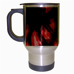 Red light Travel Mug (Silver Gray)