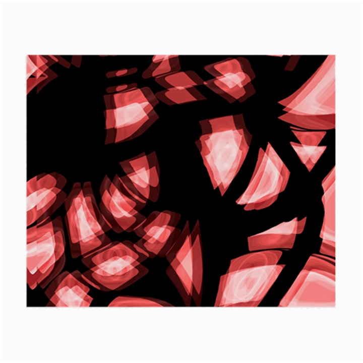 Red light Small Glasses Cloth