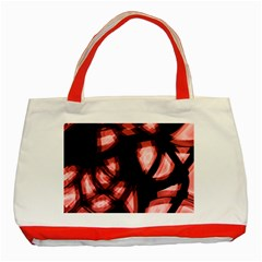 Red light Classic Tote Bag (Red)