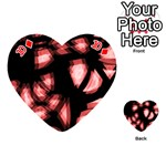 Red light Playing Cards 54 (Heart)  Front - Diamond10