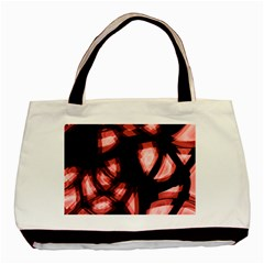 Red Light Basic Tote Bag (two Sides) by Valentinaart