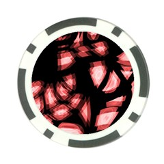 Red light Poker Chip Card Guards