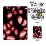 Red light Multi-purpose Cards (Rectangle)  Back 20