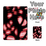 Red light Multi-purpose Cards (Rectangle)  Back 29