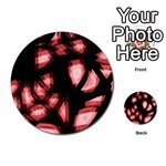 Red light Multi-purpose Cards (Round)  Back 25