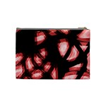 Red light Cosmetic Bag (Medium)  Back