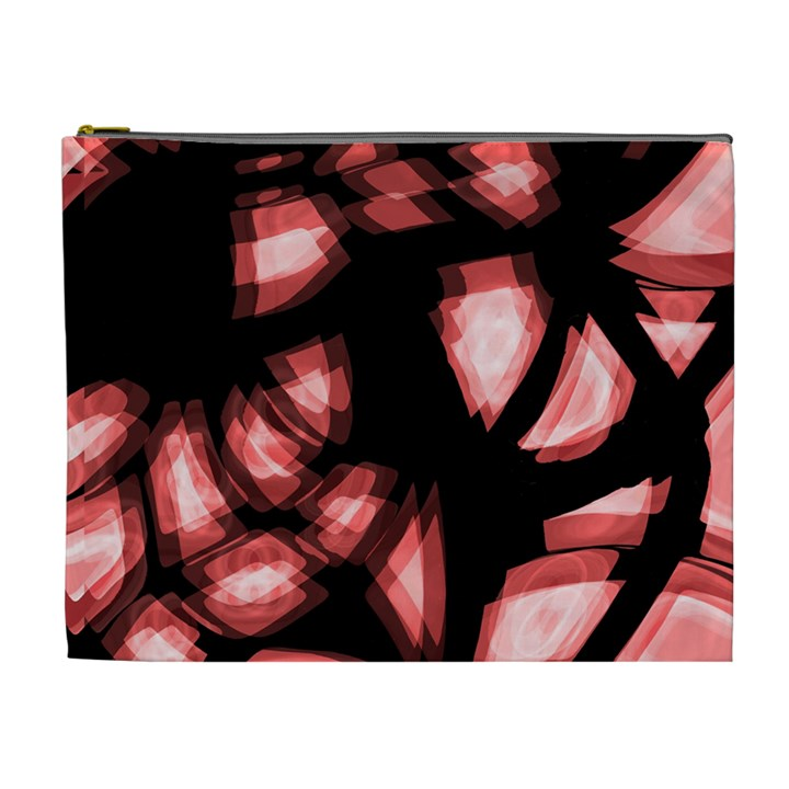 Red light Cosmetic Bag (XL)