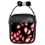 Red light Girls Sling Bags Front